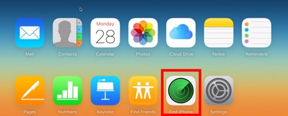 enter-find-iphone-module