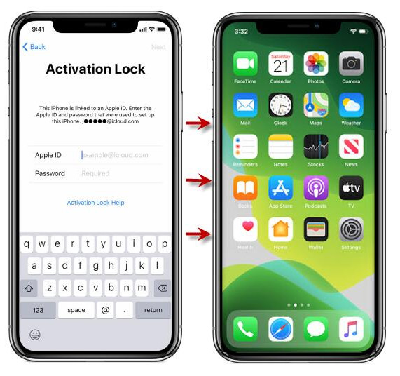 Bypass Find My iPhone activation lock without previous owner