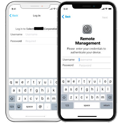 iphone ipad mdm remote management