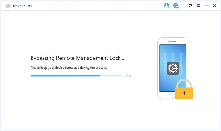 iMyFone-LockWiper start to bypass 4
