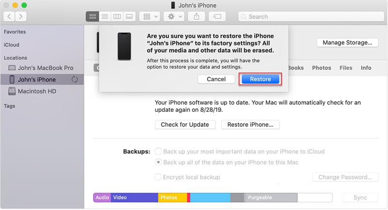 removing screen lock