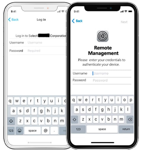 1. MDM lock in iPhone