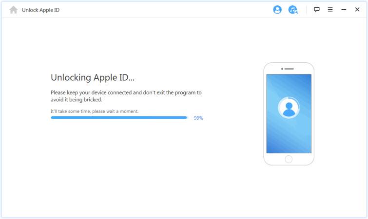 Start to Unlock Apple ID